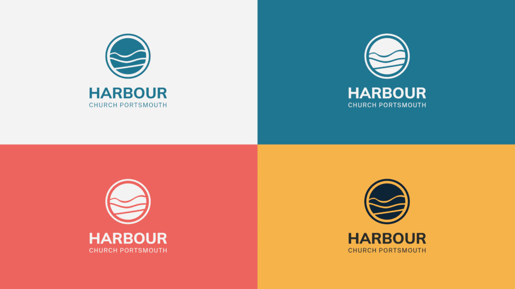 Harbour Church Portsmouth final logo design display