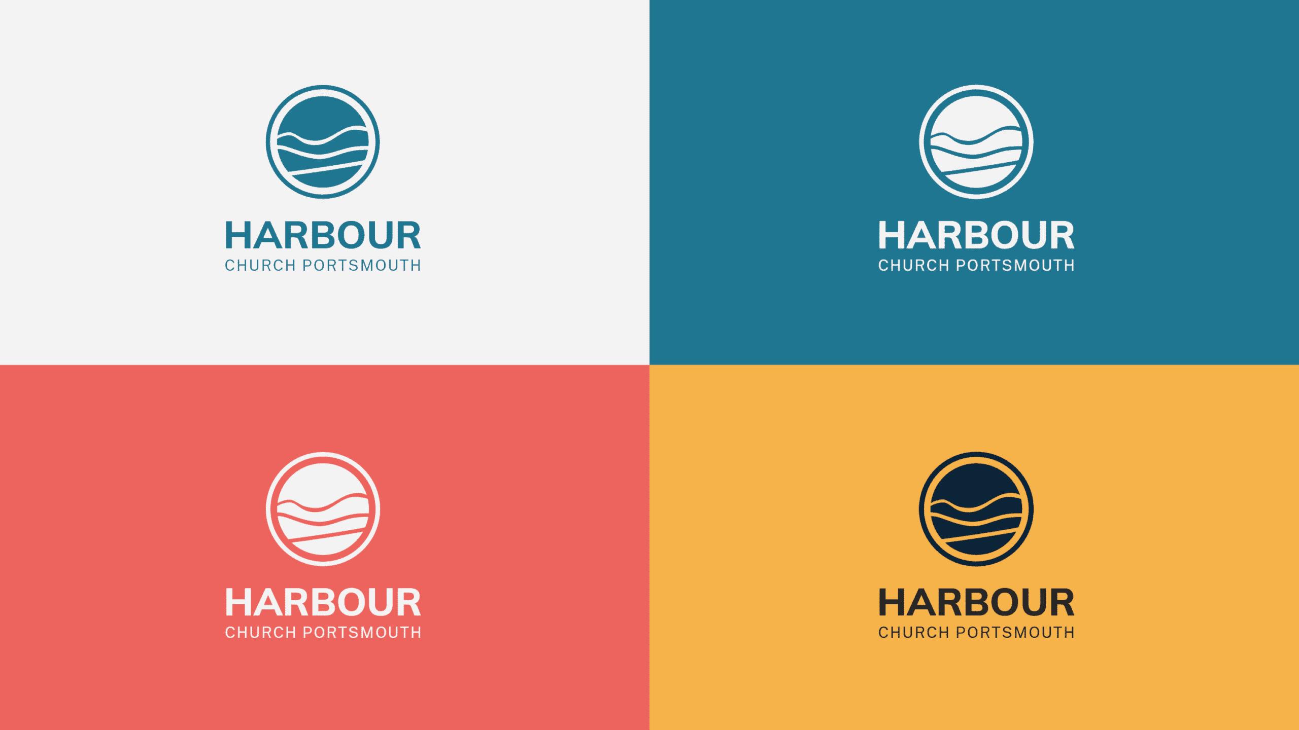 Harbour Church Portsmouth final logo design display