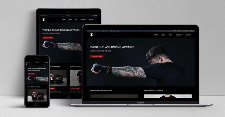 Website design service mockup | Website design berkshire
