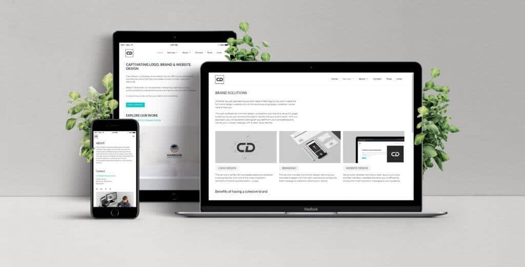 Website design package. UX / web design to boost business.