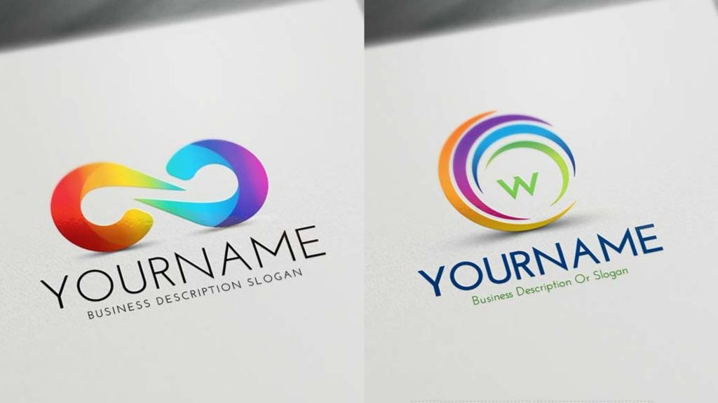 Logo designs from an online logo maker