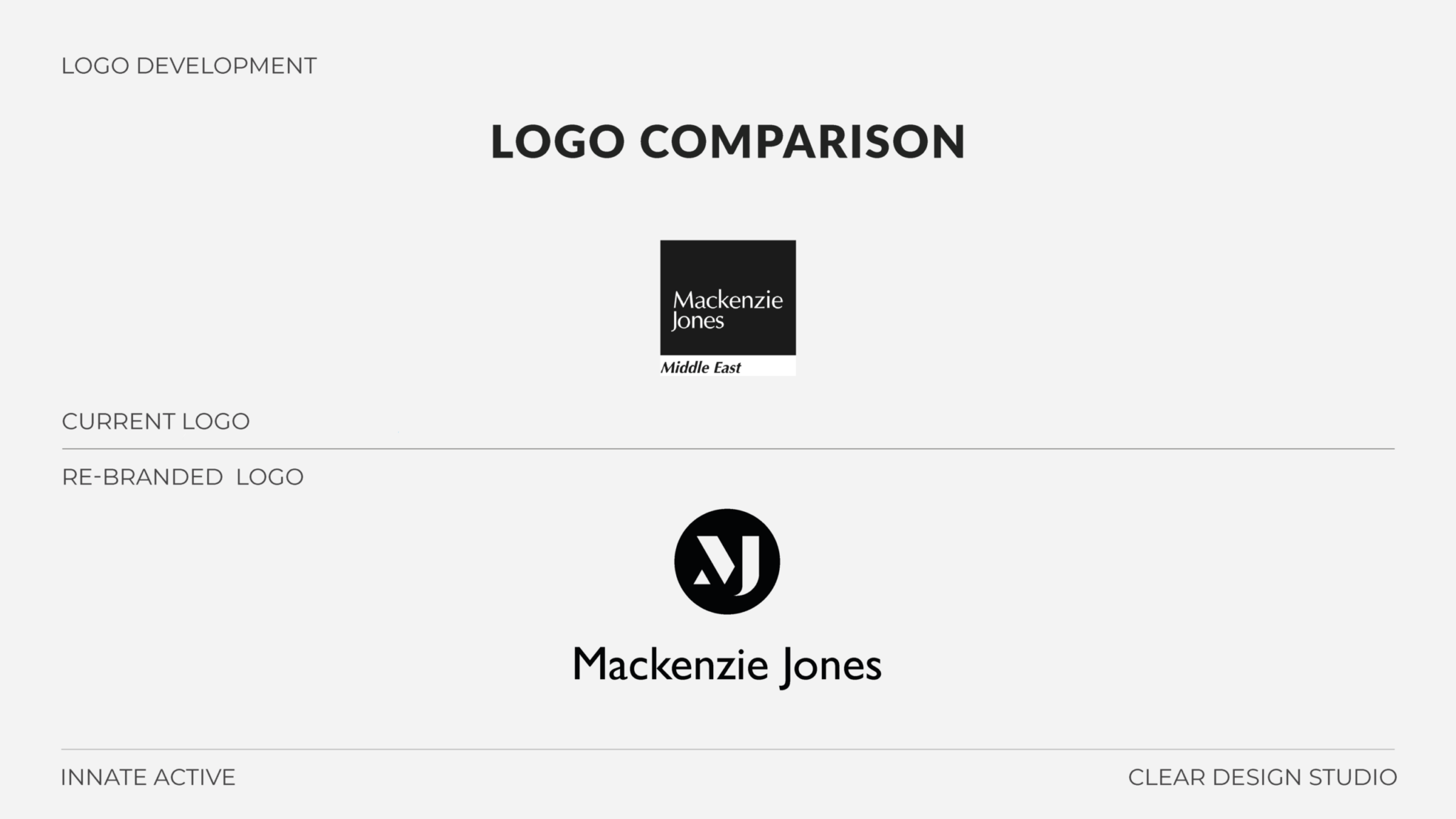 Mackenzie Jones Logo Design Presentation 2