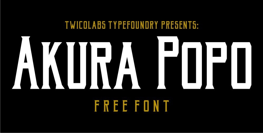 Akura Pro Font