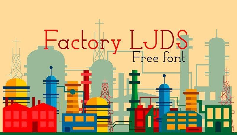 Factory LJDS Font