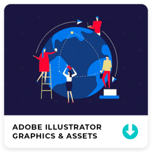 Download Graphic Assets for Adobe Illustrator