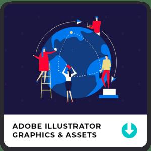 Download Graphic Assets for Adobe Illustrator