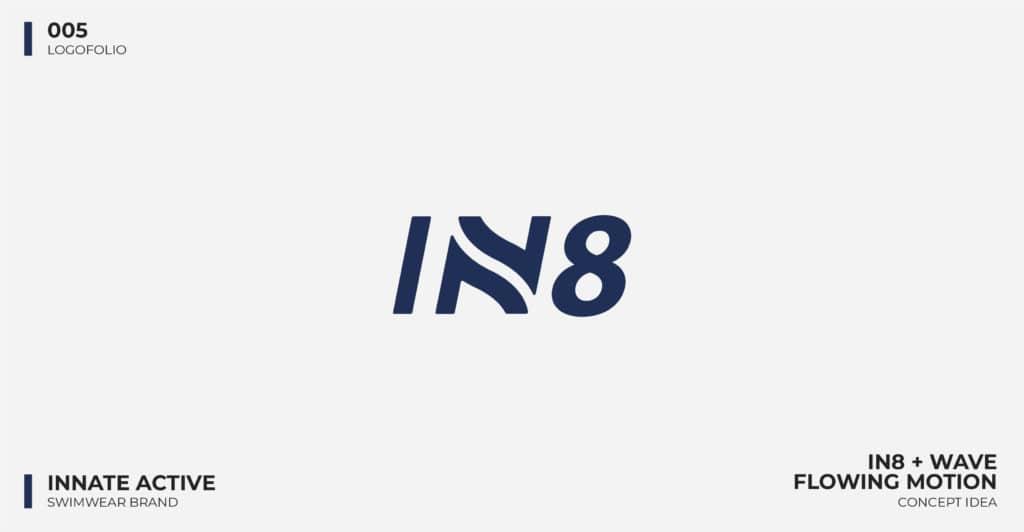 Logo Design Portfolio - Innate Active Swimwear Logo