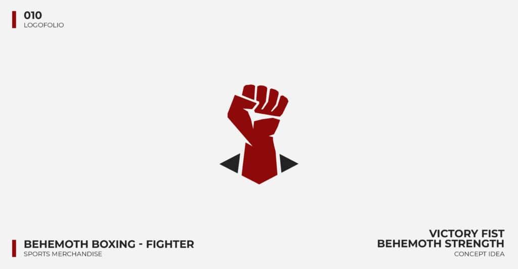 Logo Design Portfolio - Behemoth Boxing Logo