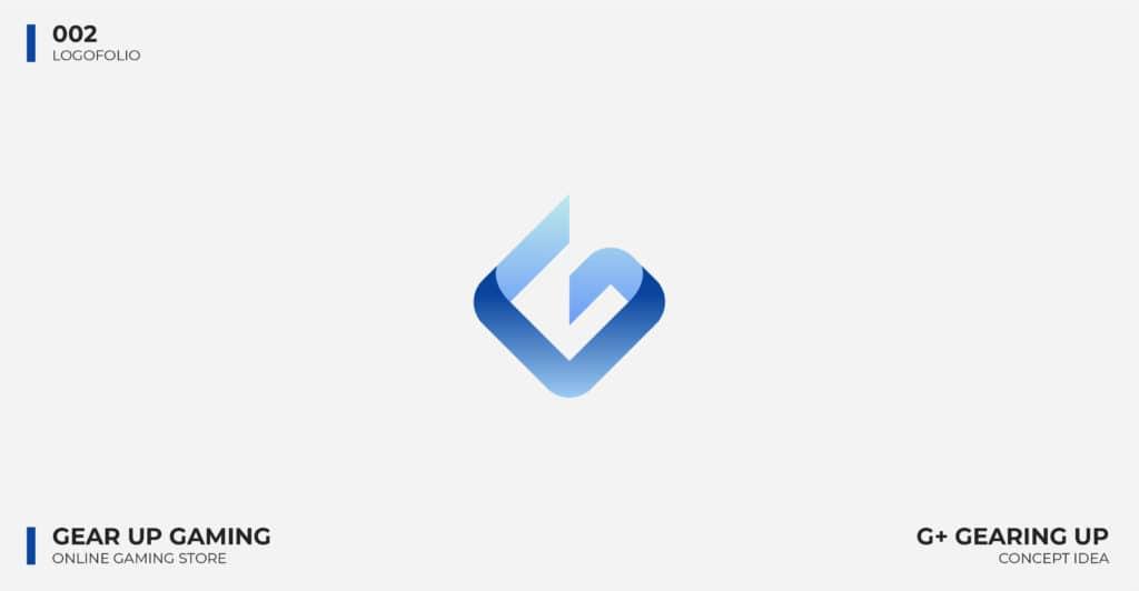 Logo Design Portfolio - Gear Up Gaming Logo