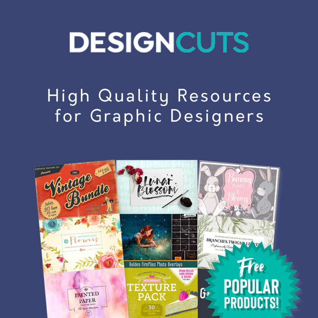 DesignCuts - Free resources, mockups and bundles for designers