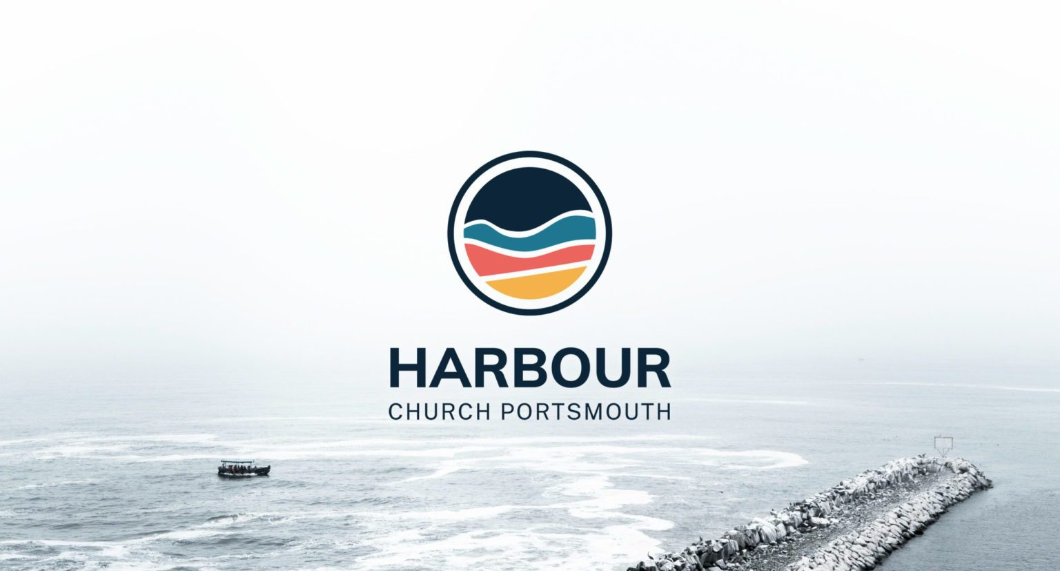 Bright, colourful logo design for Harbour Church Portsmouth | Logo Design Berkshire