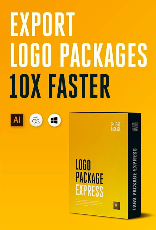 Logo Package Express - Export Logo Designs in under 5 minutes