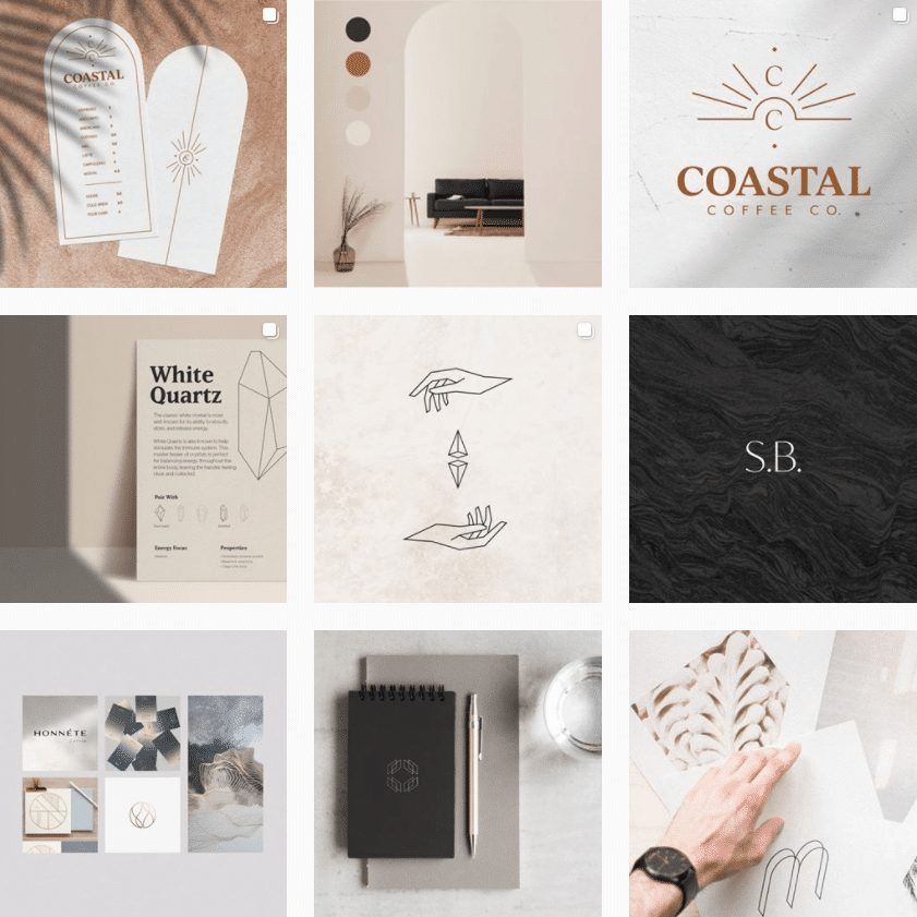 Mike Mazz - Brand Identity Designer | Instagram Profile
