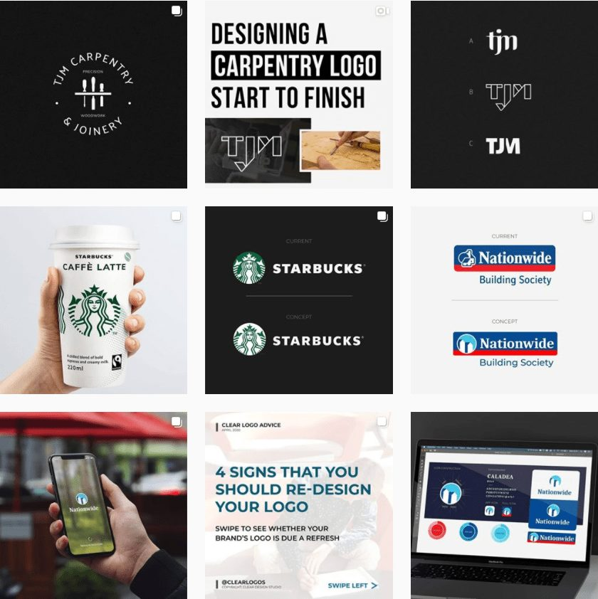 Stephen Cleary (Clear Design) - Logo, Brand & Website Designer with a pure, compelling style | Instagram Profile