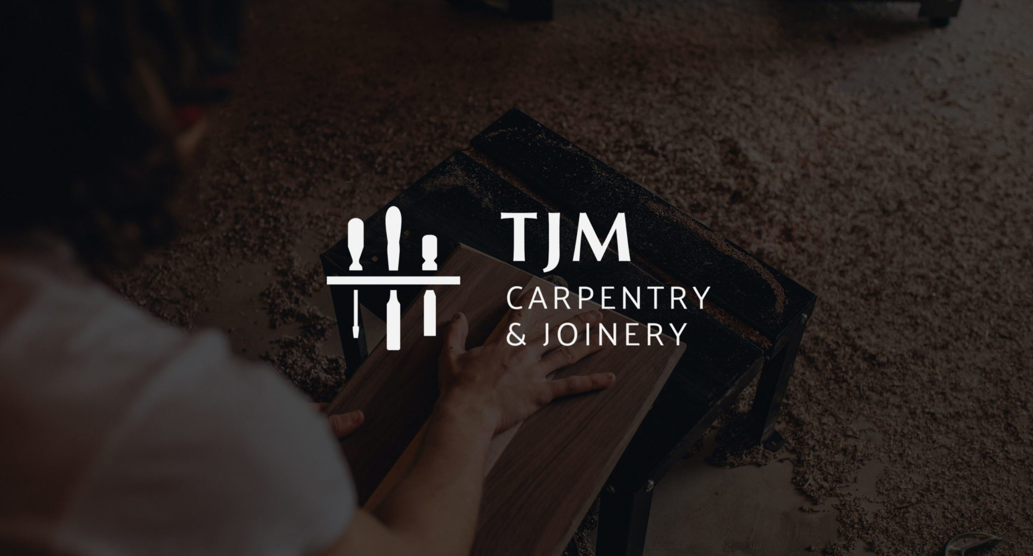 TJM Carpentry & Joinery Logo Design