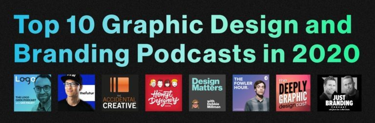 Top 10 graphic design podcasts in 2020