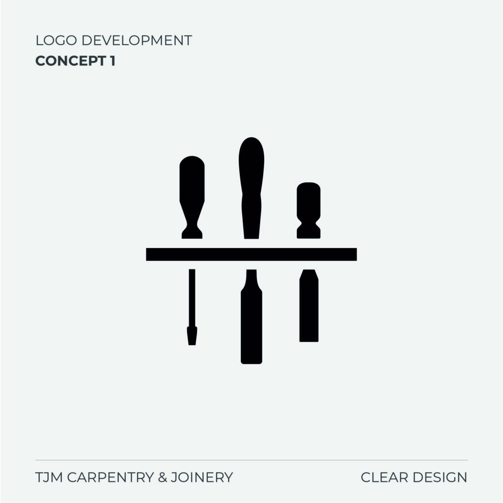 TJM Carpentry Logo Concept 1