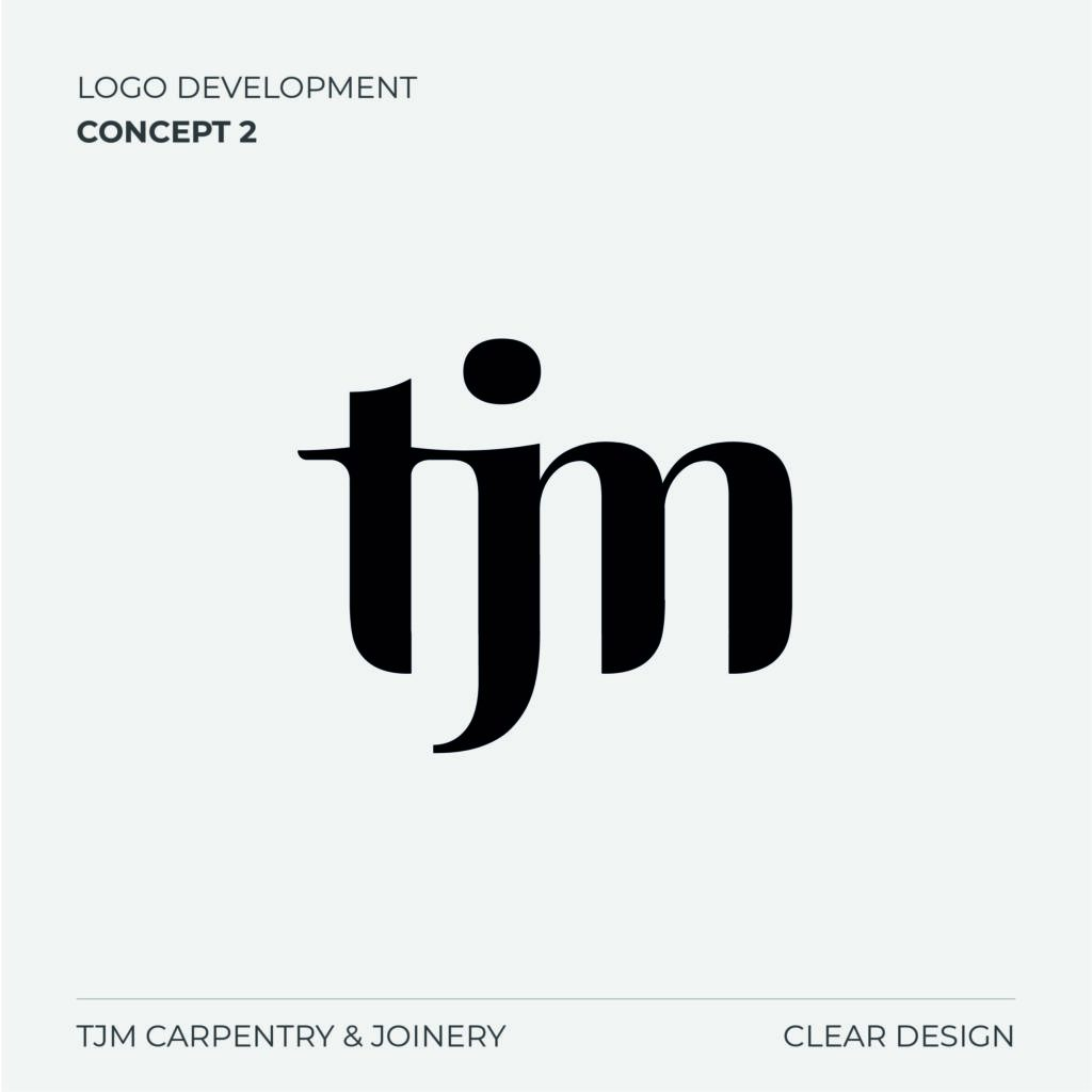TJM Carpentry Logo Concept 2
