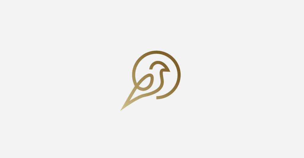 Goldfinch Property Logo Design | Clear Design