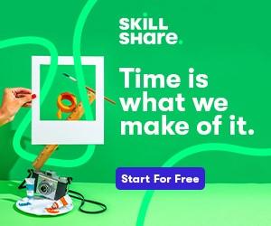 Skillshare ad