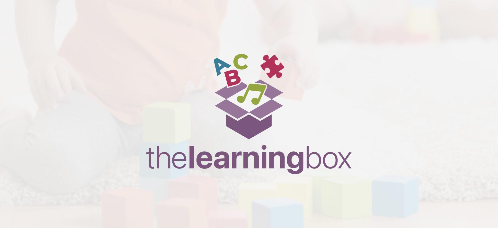 The Learning Box Full Logo | Brand Identity Design