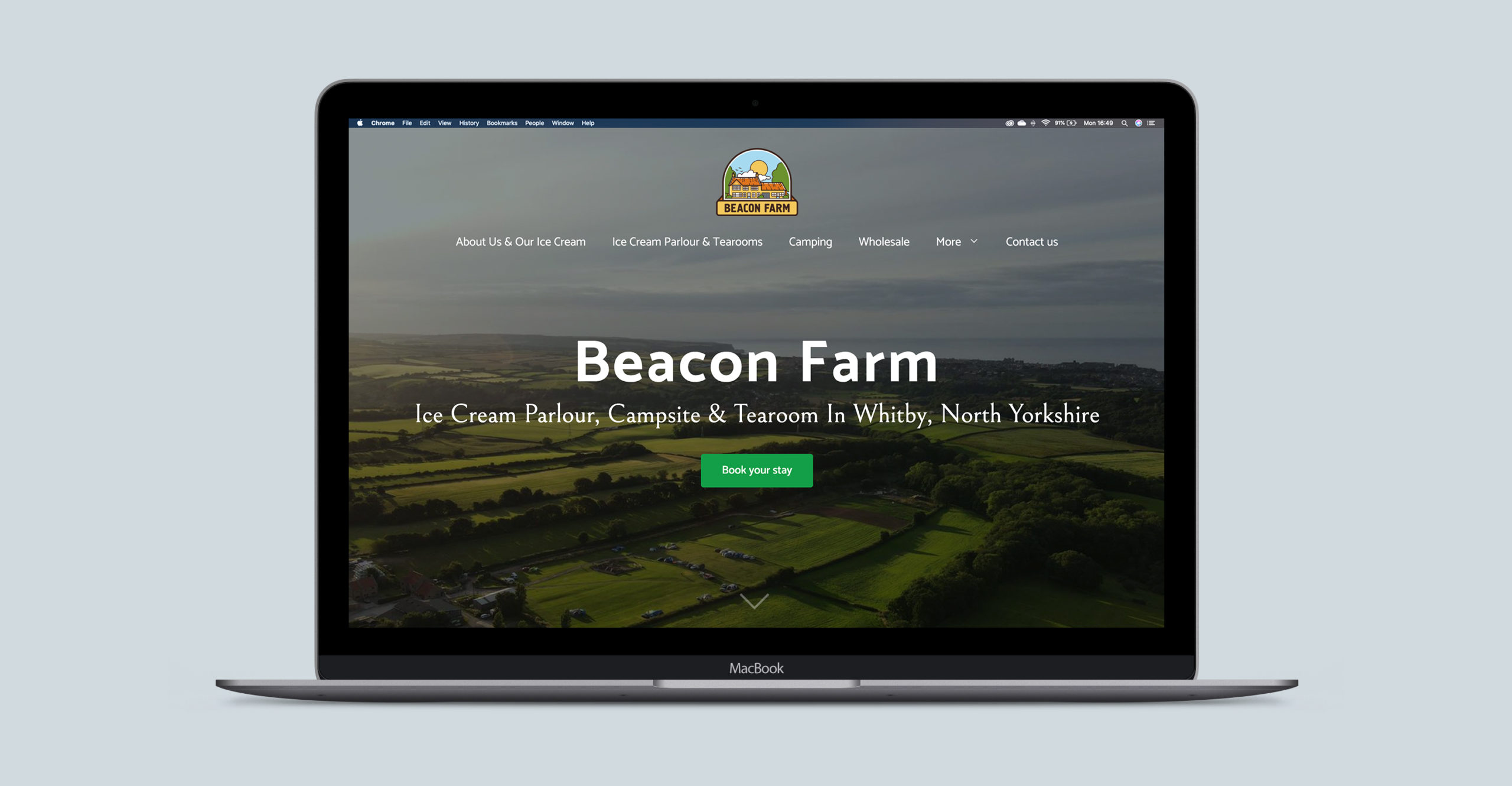 Beacon Farm Website Design | Clear Design