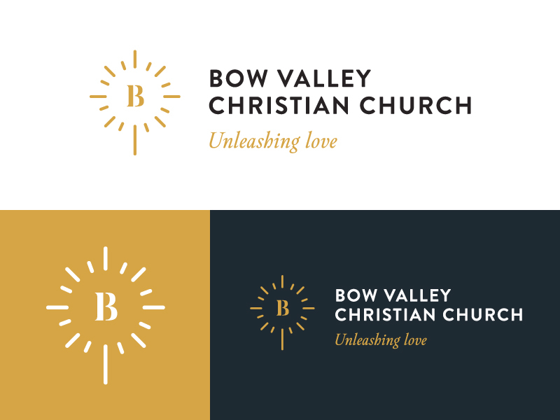 Bow Valley Church Logo Design