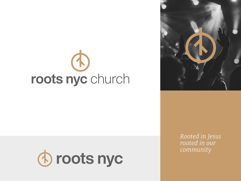 Roots NYC - Church Logo Design