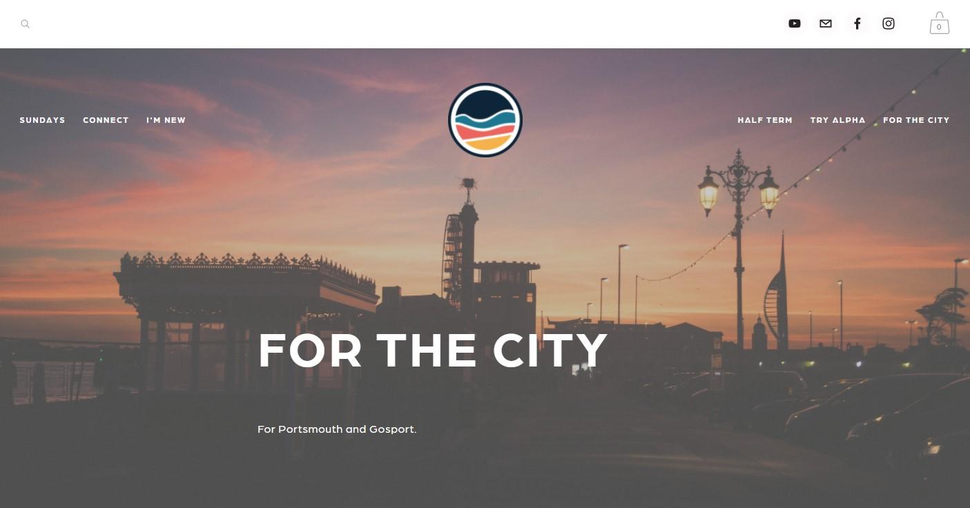 Harbour Church Portsmouth website