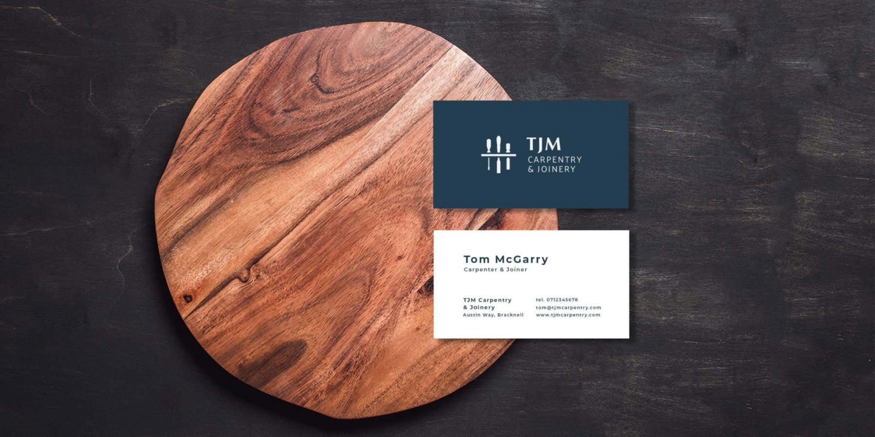 TJM Carpentry & Joinery Business Card