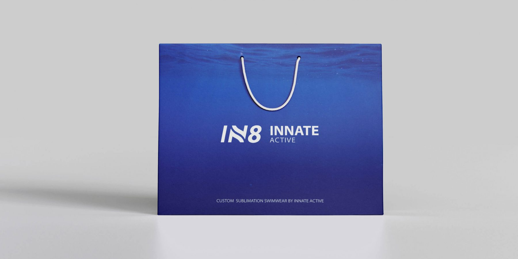 IN8 Active Shopping Bag | IN8 Active logo design