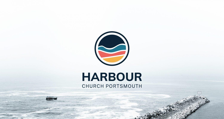 Bright, colourful logo design for Harbour Church Portsmouth | Logo Design Berkshire
