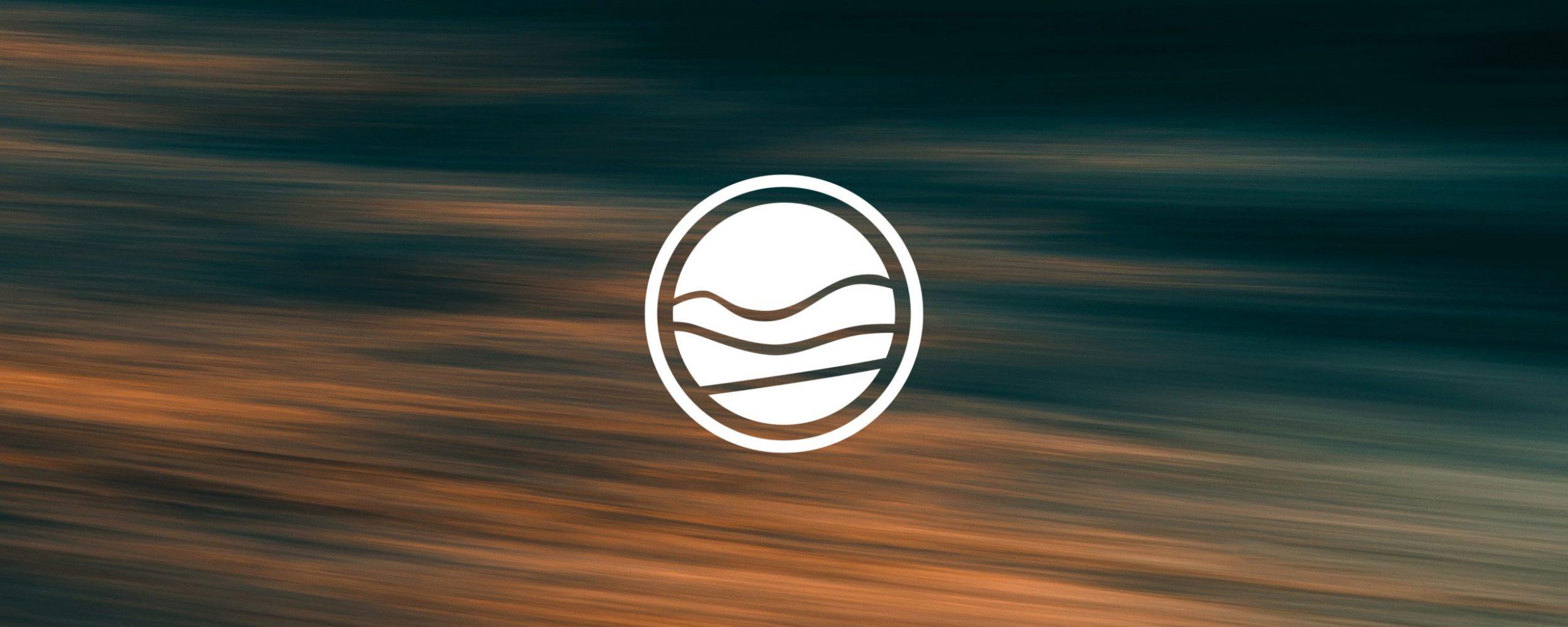 White flat logo design for Harbour Church Portsmouth | Logo Design Berkshire