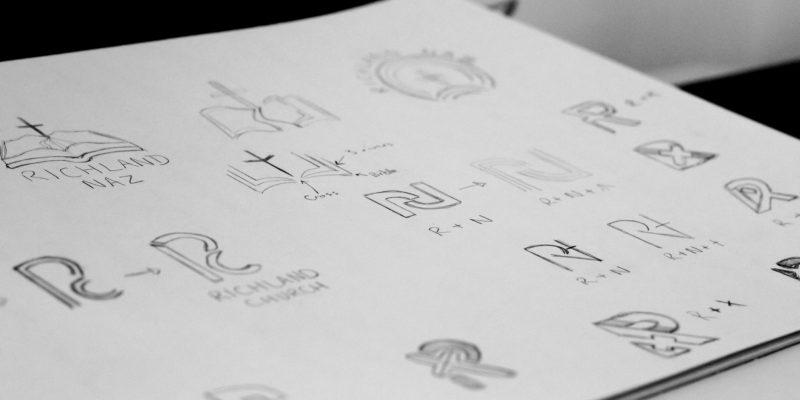 Logo design sketches | Logo Process