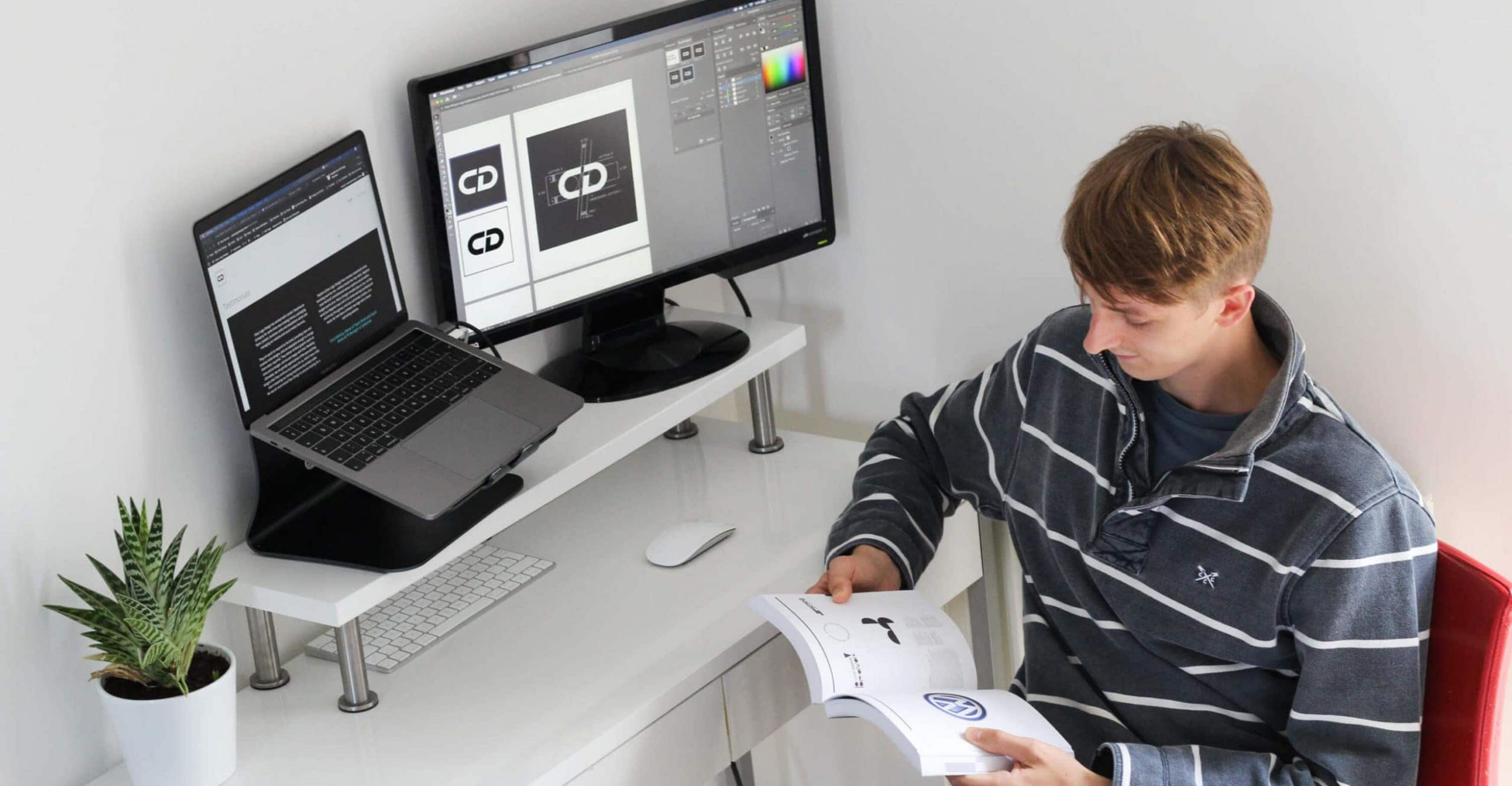 Stephen Cleary - brand designer