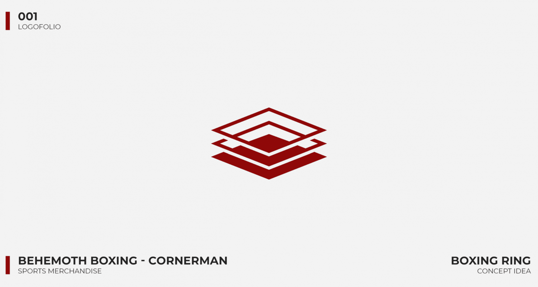 Logo portfolio - Behemoth Boxing Cornerman
