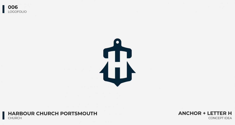 Logo portfolio - Harbour Church Portsmouth 2