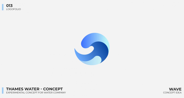 Logo portfolio - Thames Water Concept