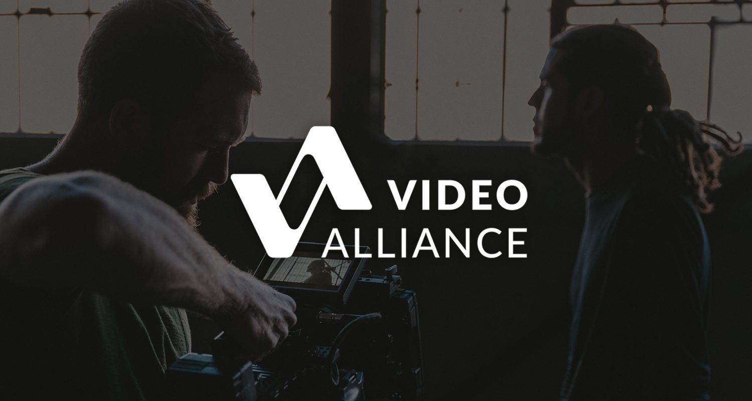 Video Alliance Full Logo | Videography Logo Design