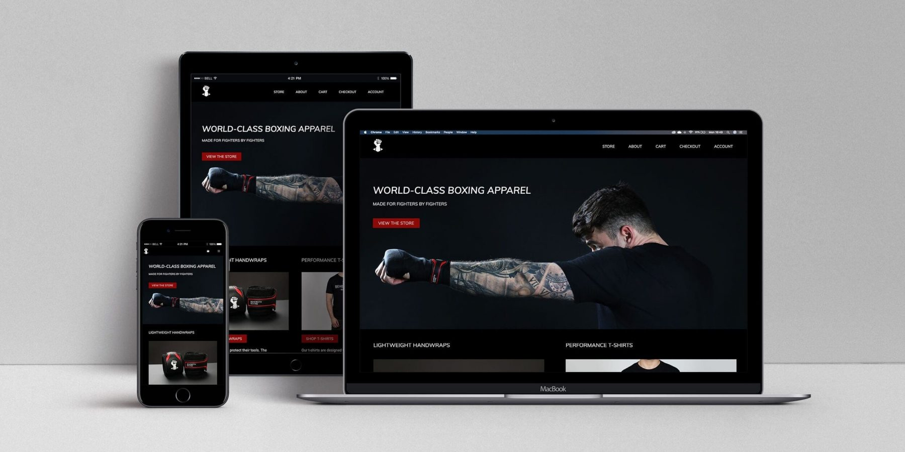 Website design package. UX design to boost your business.